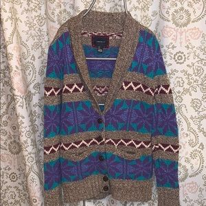 F21 Patterned Cardigan